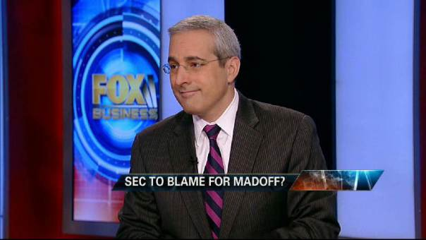 Blaming SEC for Madoff Scandal