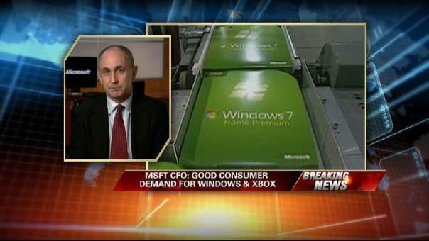 Microsoft CFO on Earnings