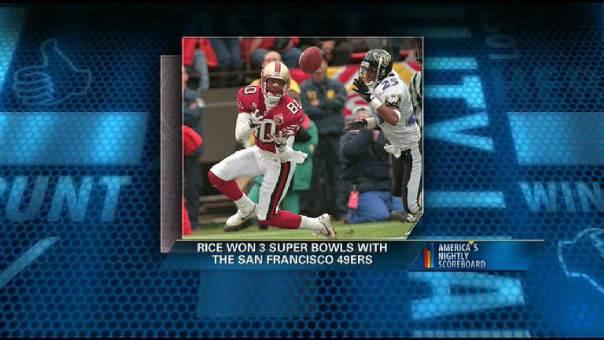 Jerry Rice Talks Career