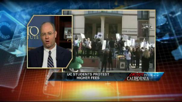 Cal Students Protest Hike in Fees