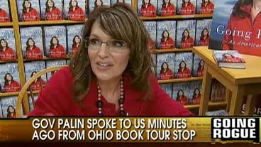 Palin's Special Message to 'OTR'