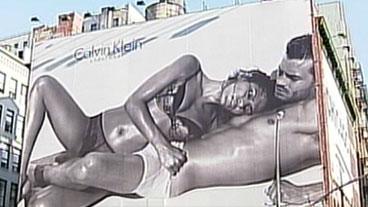 Racy Calvin Klein Ad