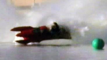 Boat Flips Over and Splits