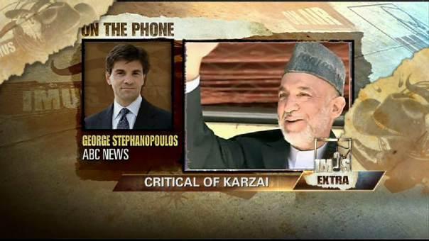 Critical of Karzai