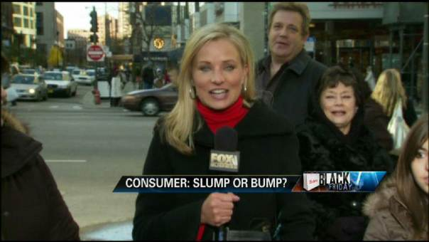 Black Friday Shoppers Head for the Stores