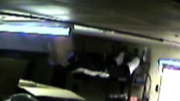 Caught on Tape: Stuck Burglar