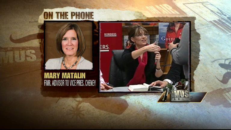 Mary Matalin on Sarah Palin