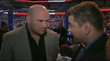 UFC 107: Dana White