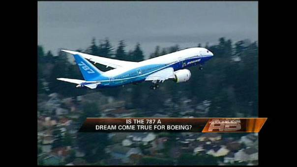 Boeing's Dreamliner Completes Maiden Voyage