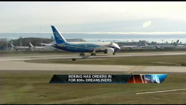 Boeing Dreamliner to Take First Flight