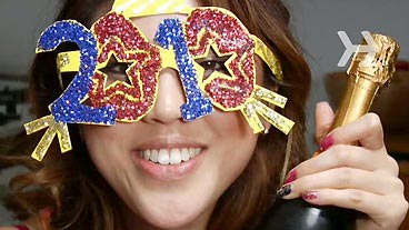 Make New Year's Party Glasses