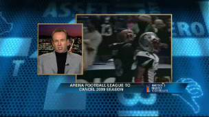 Arizona Rattlers managing Partner Brett Bouchy discusses the cancellation of the Arena Football League season.
