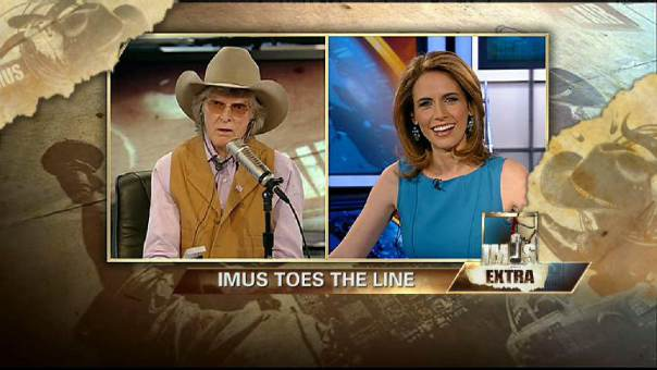Imus Toes the Line