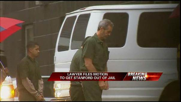 Lawyer Files Motion for Stanford's Release