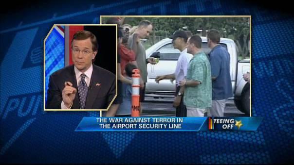 Blame the TSA?