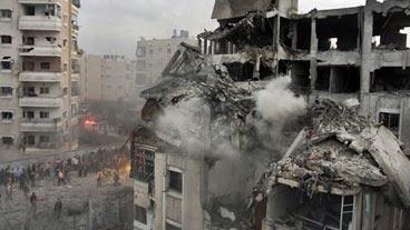 Flare-up in Gaza